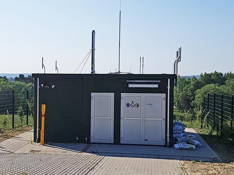 Lhotzky und Partner Bauwerksmonitoring: Folgemessungen im Zustand mit Gasmessstation