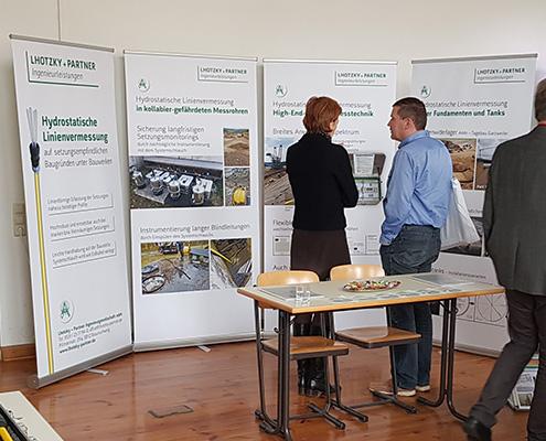Lhotzky + Partner Ingenieurleistungen im Gespräch auf Fachtagung in Leipzig