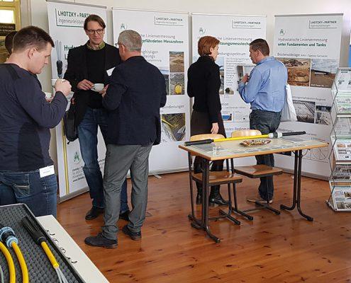 Lhotzky + Partner Ingenieurleistungen im Fachgespräch auf Fachtagung in Leipzig