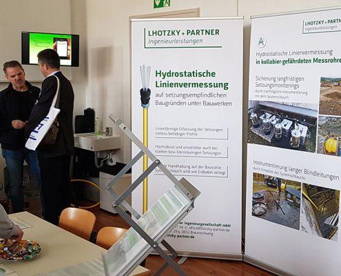 Neues Design von Lhotzky + Partner Ingenieurleistungen auf Fachtagung in Leipzig